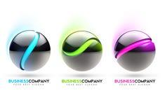 esferas 3d Foto de Stock Royalty Free