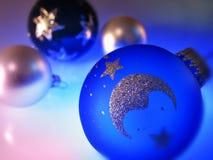 Esferas da árvore de Natal Fotografia de Stock Royalty Free