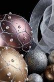 Esferas da árvore de Natal Imagem de Stock Royalty Free