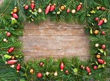 Esferas da árvore de Natal Imagens de Stock Royalty Free