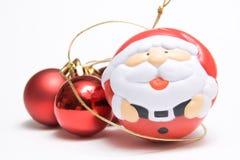 Esferas da American National Standard de Papai Noel Fotos de Stock Royalty Free