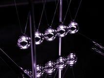 Esferas da colisão (foco na esfera Center) Imagens de Stock Royalty Free