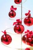 Esferas da decoração do Natal Fotos de Stock Royalty Free