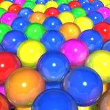 Esferas das cores Fotografia de Stock Royalty Free
