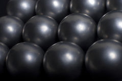 Esferas de acero fotos de archivo