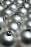 Esferas de ano novo. Imagem de Stock