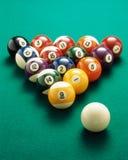 Esferas de bilhar Foto de Stock