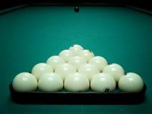 Esferas de bilhar Imagem de Stock Royalty Free