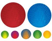 Esferas de borracha ilustradas Foto de Stock
