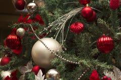 Esferas de Christmass Fotografia de Stock
