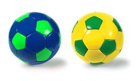 Esferas de futebol Fotos de Stock