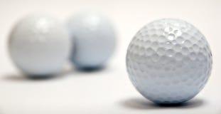 Esferas de golfe Fotografia de Stock Royalty Free