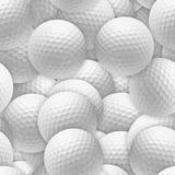 Esferas de golfe Foto de Stock
