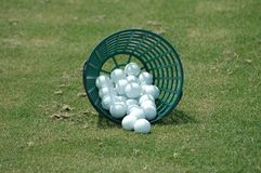 Esferas de golfe Imagem de Stock Royalty Free