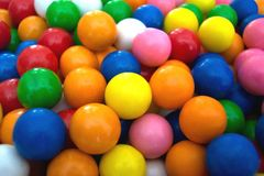Esferas de goma Imagem de Stock Royalty Free