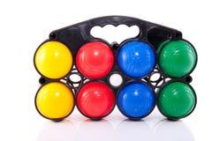 Esferas de Jeu de boules Fotografia de Stock Royalty Free