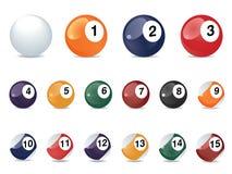 Esferas de jogo da associação Fotografia de Stock Royalty Free