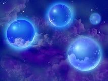 Esferas de la fantasía Imagen de archivo libre de regalías