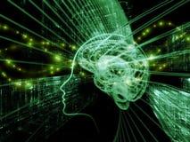 Esferas de la mente Fotos de archivo