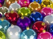 Esferas de la Navidad Fotografía de archivo libre de regalías