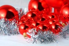 Esferas de la Navidad Fotos de archivo libres de regalías