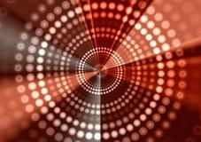 Esferas de los círculos de los anillos de las luces Fotografía de archivo