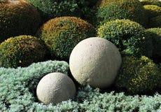 Esferas de pedra imagens de stock