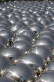 Esferas de plata del acero inoxidable fotos de archivo libres de regalías