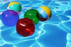 Esferas de praia Imagens de Stock Royalty Free