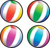 Esferas de praia Fotografia de Stock