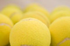 Esferas de tênis Fotografia de Stock