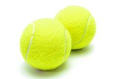 Esferas de tênis isoladas Imagem de Stock Royalty Free
