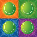 Esferas de tênis retros Fotografia de Stock Royalty Free