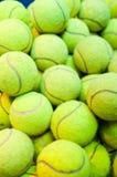 Esferas de tênis Imagem de Stock Royalty Free