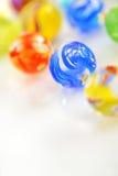 Esferas de vidro Foto de Stock