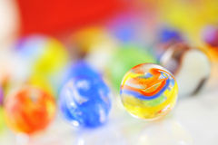 Esferas de vidro Fotos de Stock