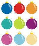 Esferas del color Fotos de archivo libres de regalías