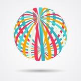Esferas del color fijadas Fotos de archivo libres de regalías