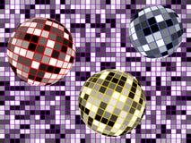 Esferas del disco Foto de archivo