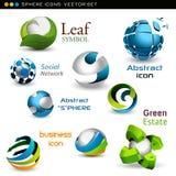 Esferas del vector ilustración del vector