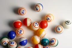 Esferas do Bingo Imagens de Stock Royalty Free