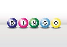 Esferas do Bingo fotografia de stock