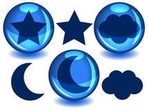 Esferas do céu Foto de Stock