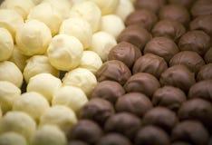 Esferas do chocolate Foto de Stock Royalty Free