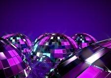 Esferas do disco Fotografia de Stock Royalty Free