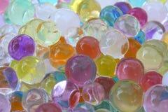 Esferas do Gelatin Foto de Stock Royalty Free