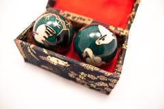 Esferas do kung do qui fotografia de stock royalty free