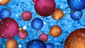 Esferas do Natal ilustração stock