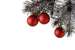 Esferas do Natal Fotos de Stock Royalty Free