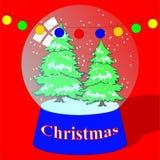 Esferas do Natal Fotos de Stock